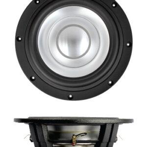 "SB Acoustics SW26DAC76-3-DV 10"" shallow subwoofer, alu cone"